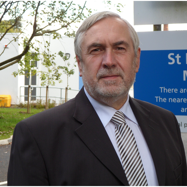Phil Knowles at Hospital