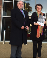 Phil Knowles with Catherine Bearder 2015