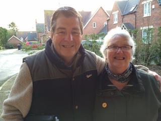 Tony Rogers and Barbara Johnson