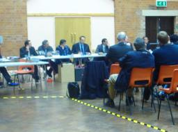 SpinneyHill & Stoneygate Lib Dem Councillors Listening to residents at their first Area Committee