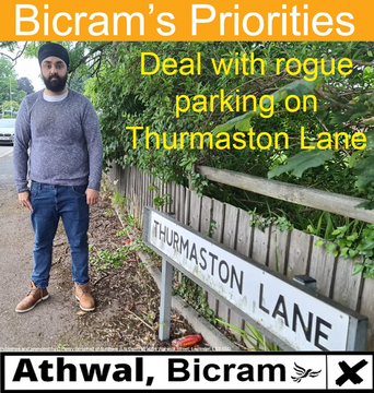 Bicram Athwal Rogue Parking