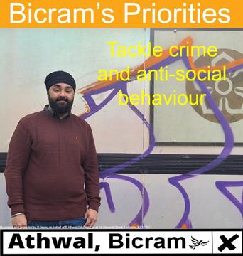 Bicram anti social behaviour